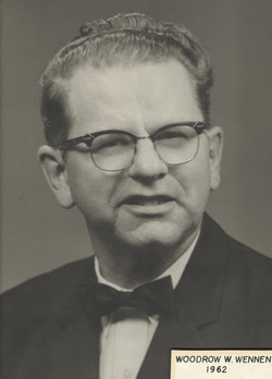 1962 Woodrow W. Wennen