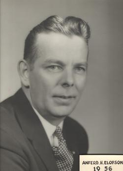 1956 Anferd H. Elofson