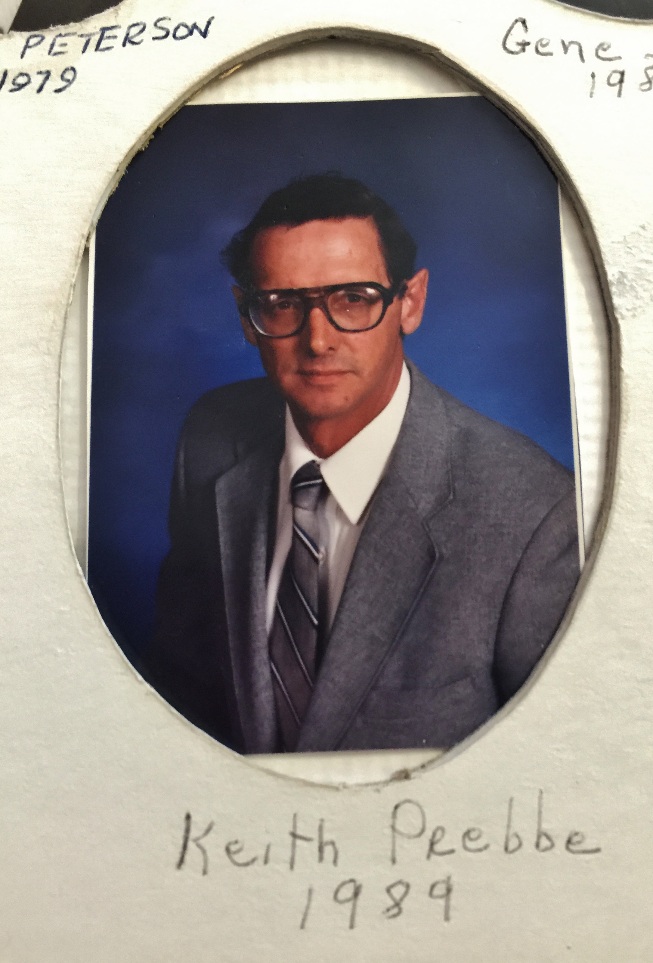 1989 Keith Prebbe