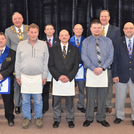 Our Newest Master Masons!