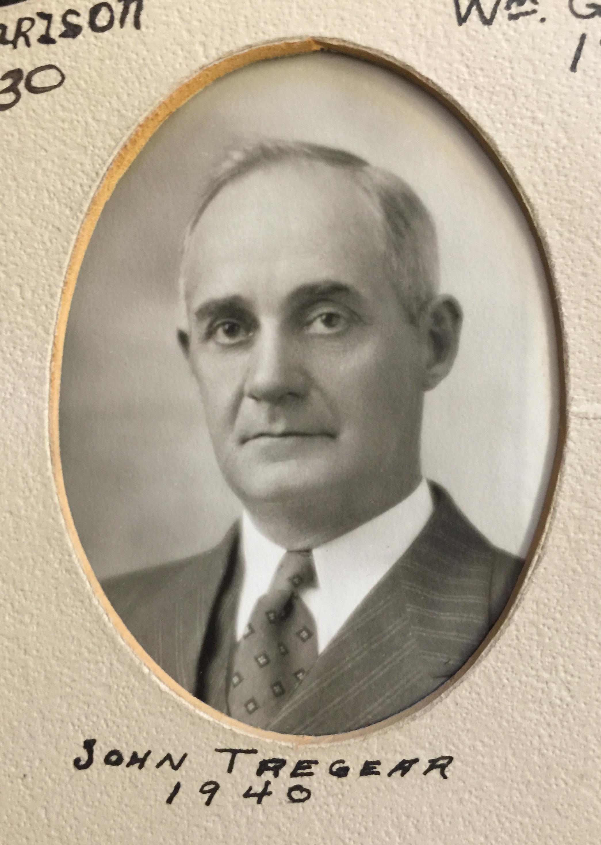 1940 John Tregear
