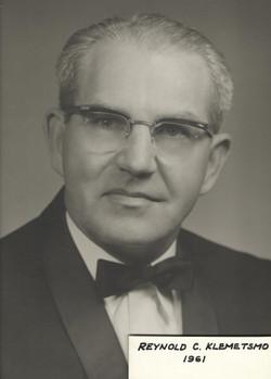 1961 Reynold C. Klemetsmo