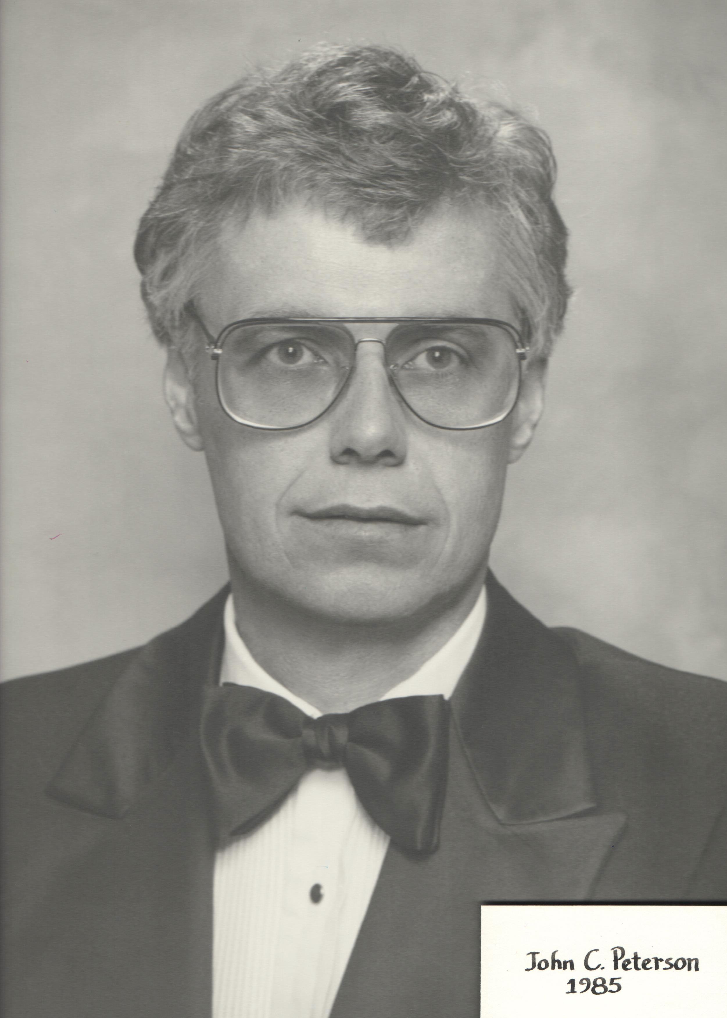 1985 John C. Peterson