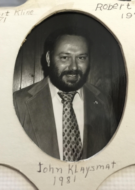1981 John Klaysmat