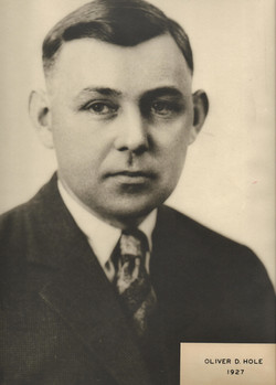 1927 Oliver D. Hole