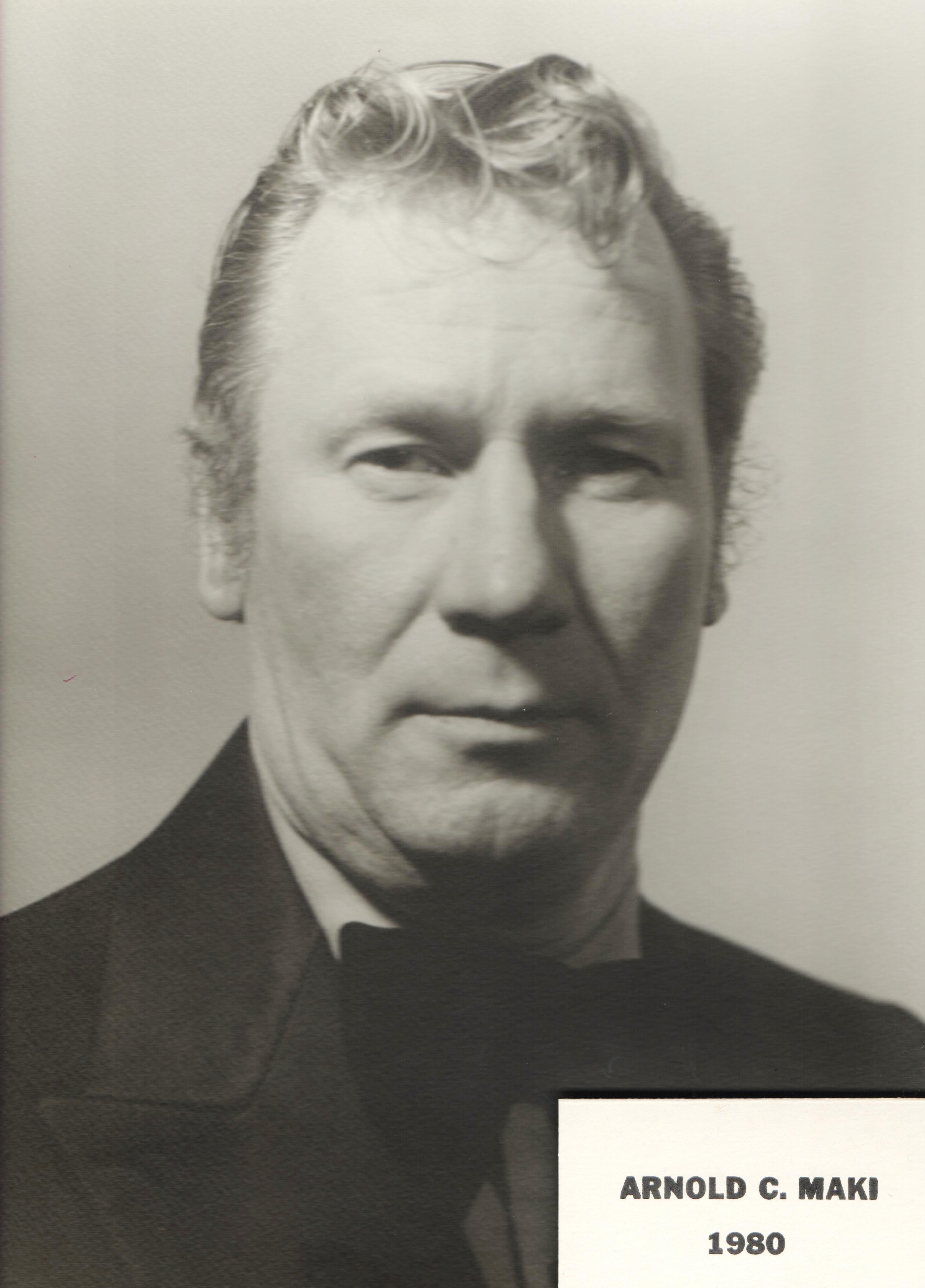 1980 Arnold C. Maki