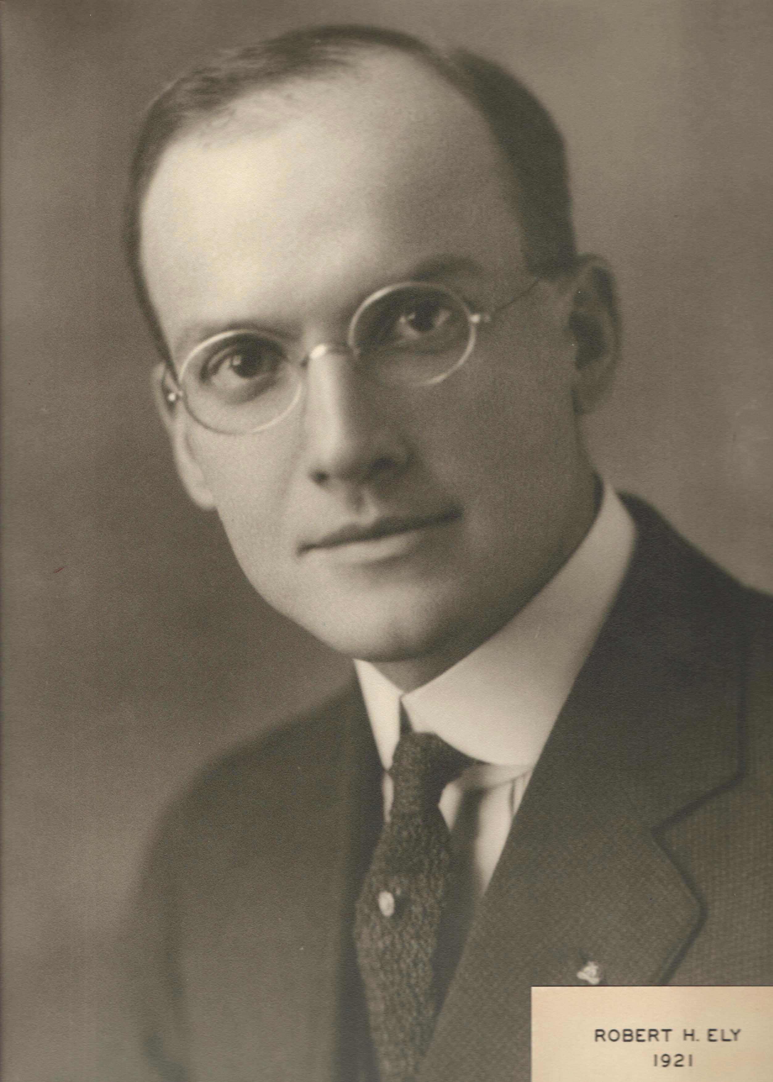 1921 Robert H. Ely