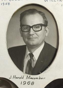 1968 J. Harold Macomber
