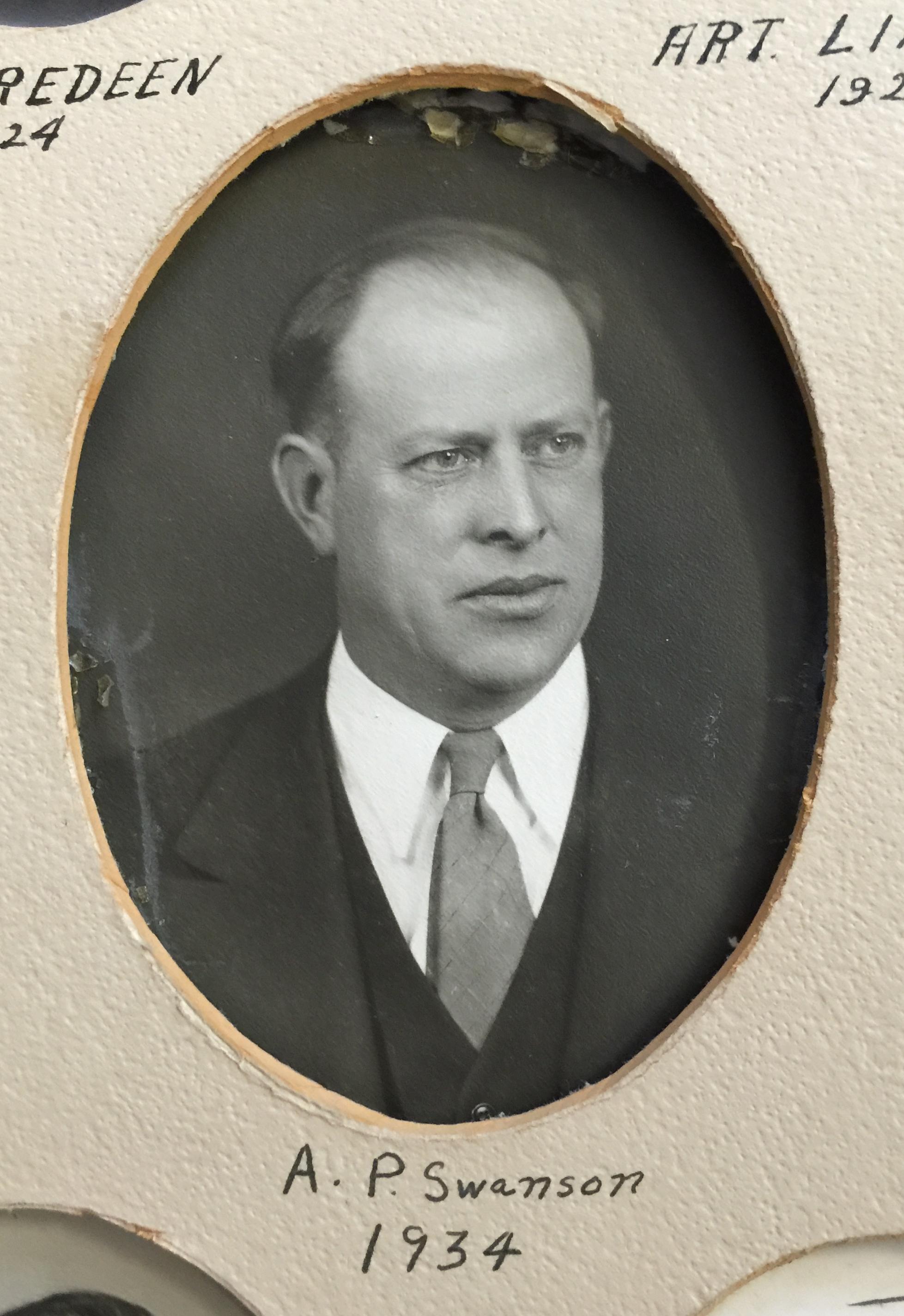 1934 A.P. Swanson