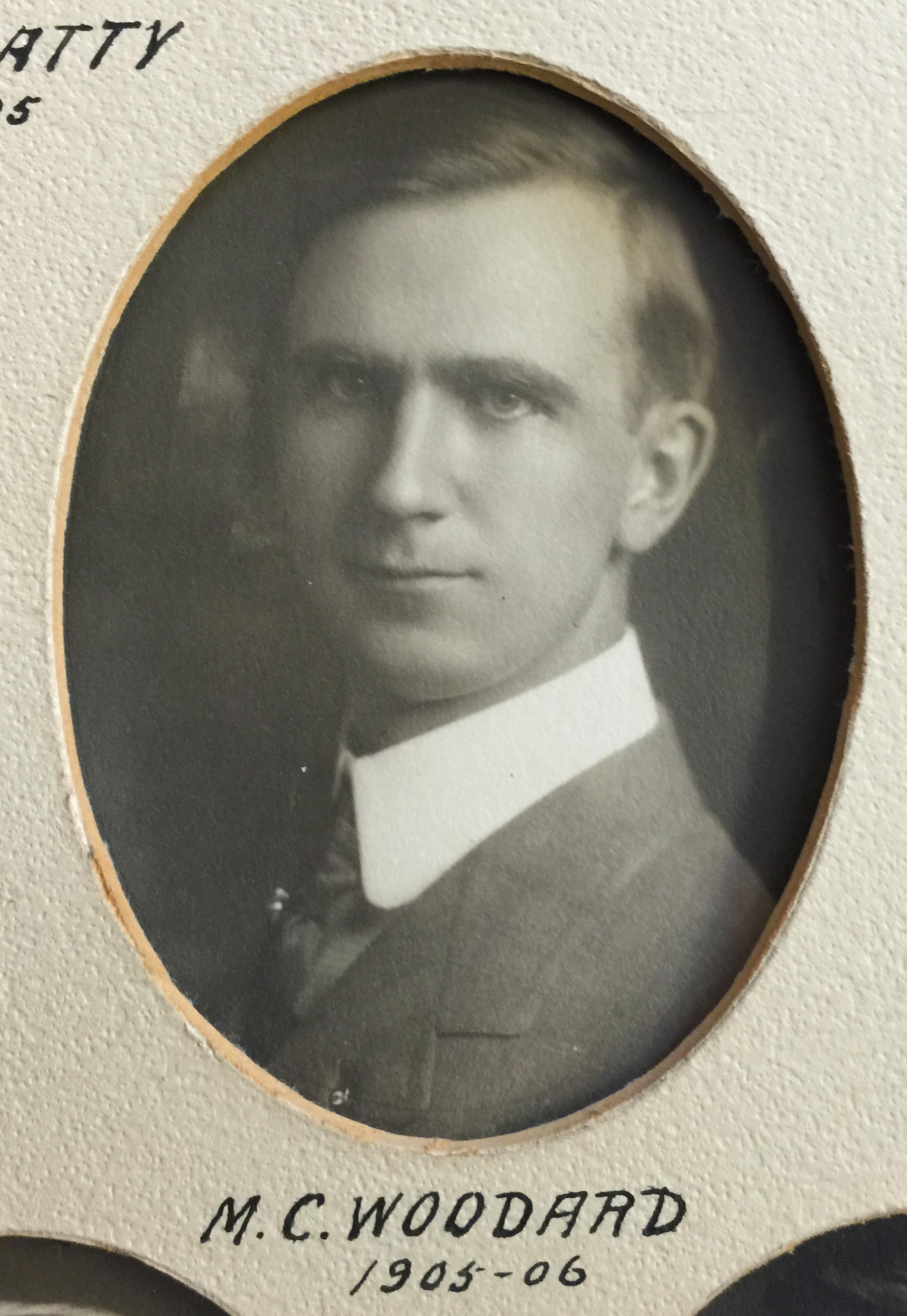 1905-1906 M.C. Woodard