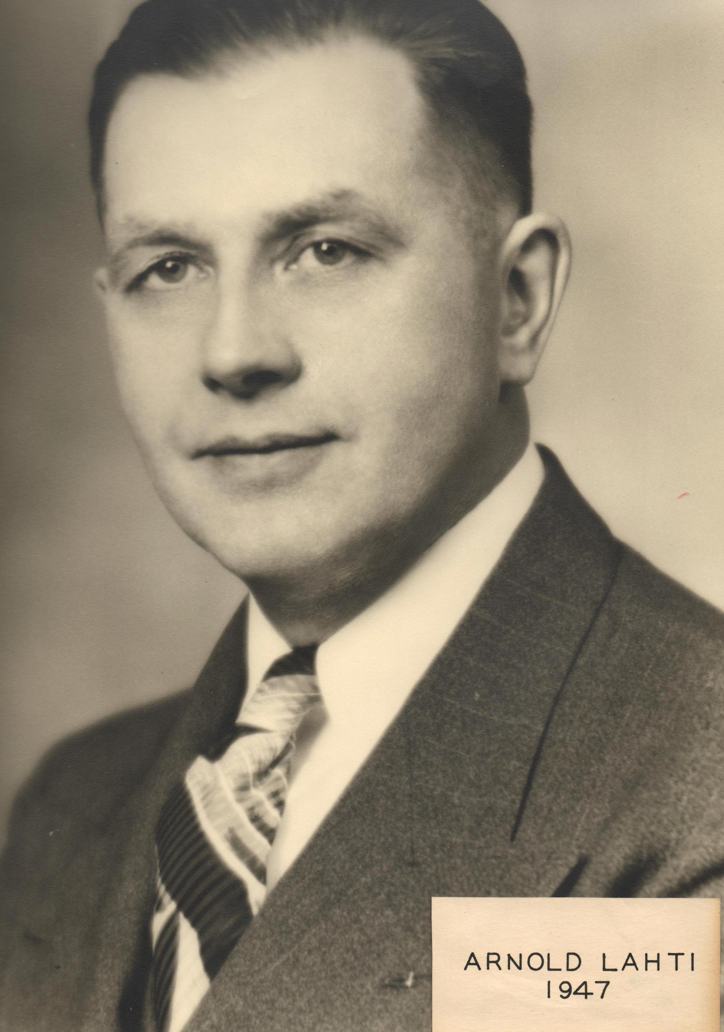1947 Arnold Lahti