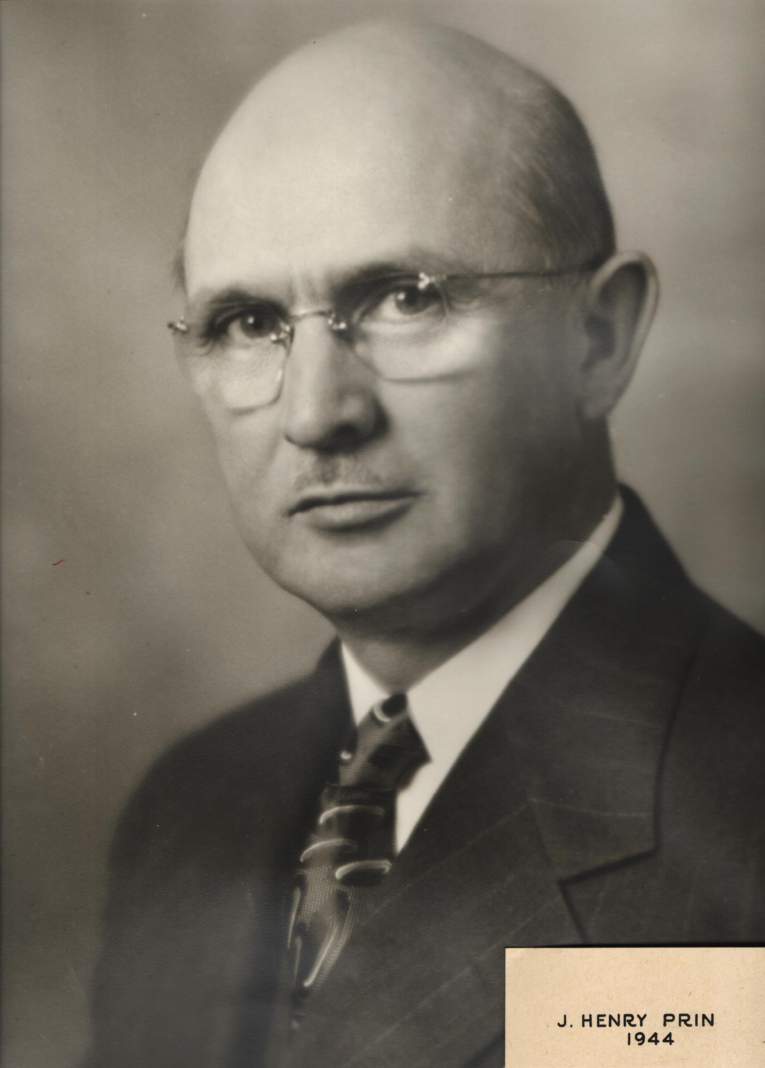 1944 J. Henry Prin