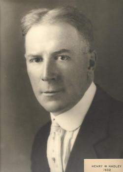 1932 Henry W. Hadley