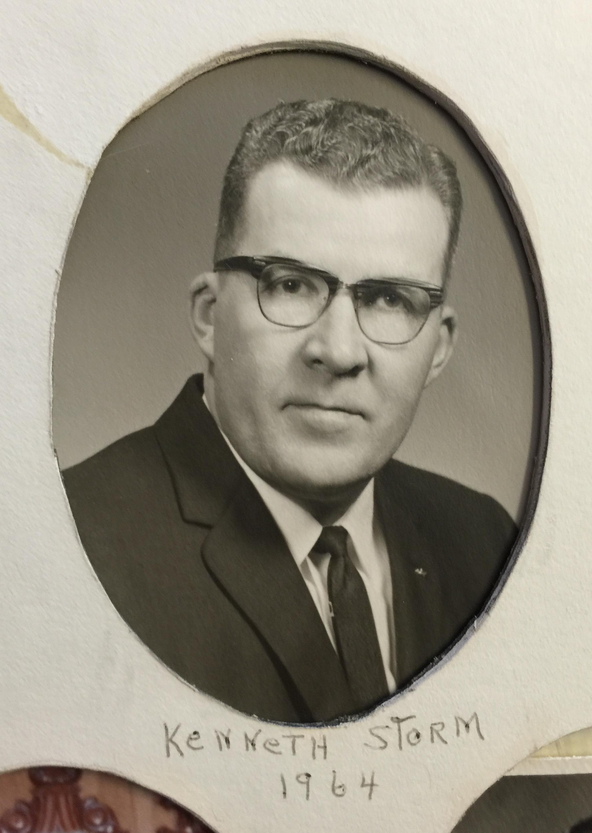 1964 Kenneth Storm