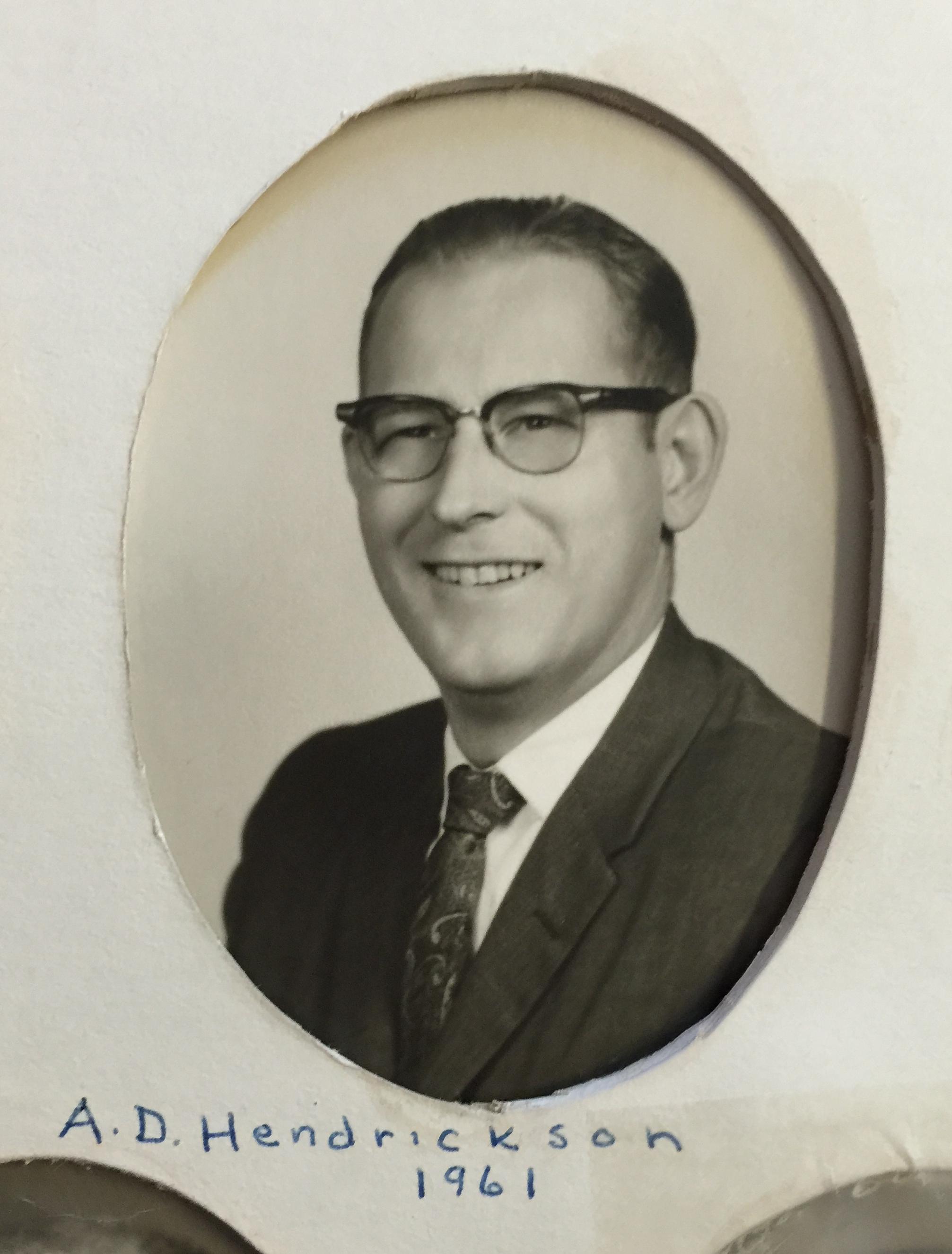 1961 A.D. Hendrickson