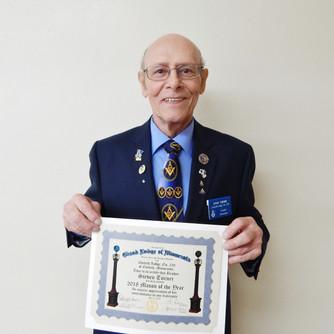Mason of the Year Award: Steve Turner