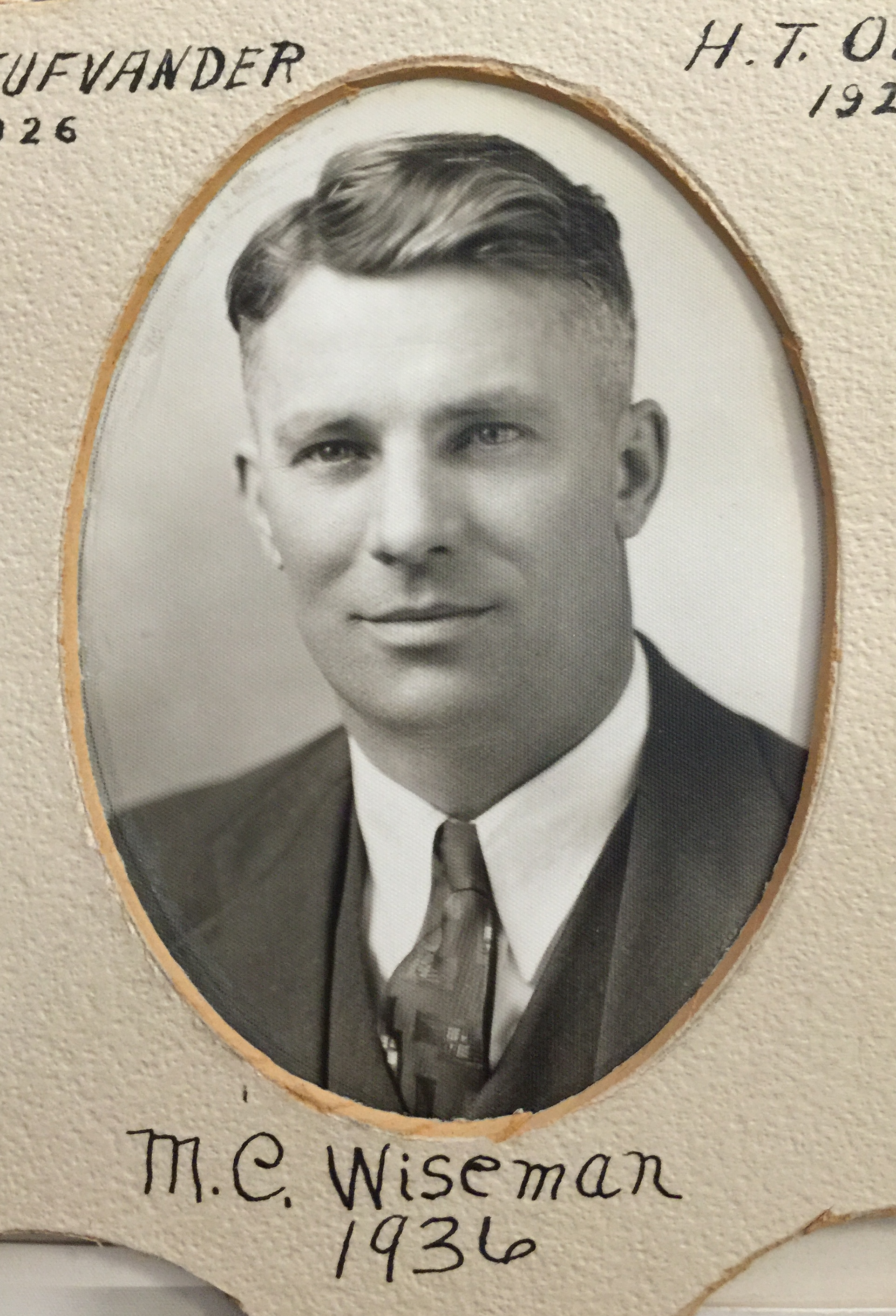 1936 M.C. Wiseman