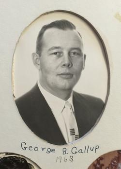 1963 George B. Gallup