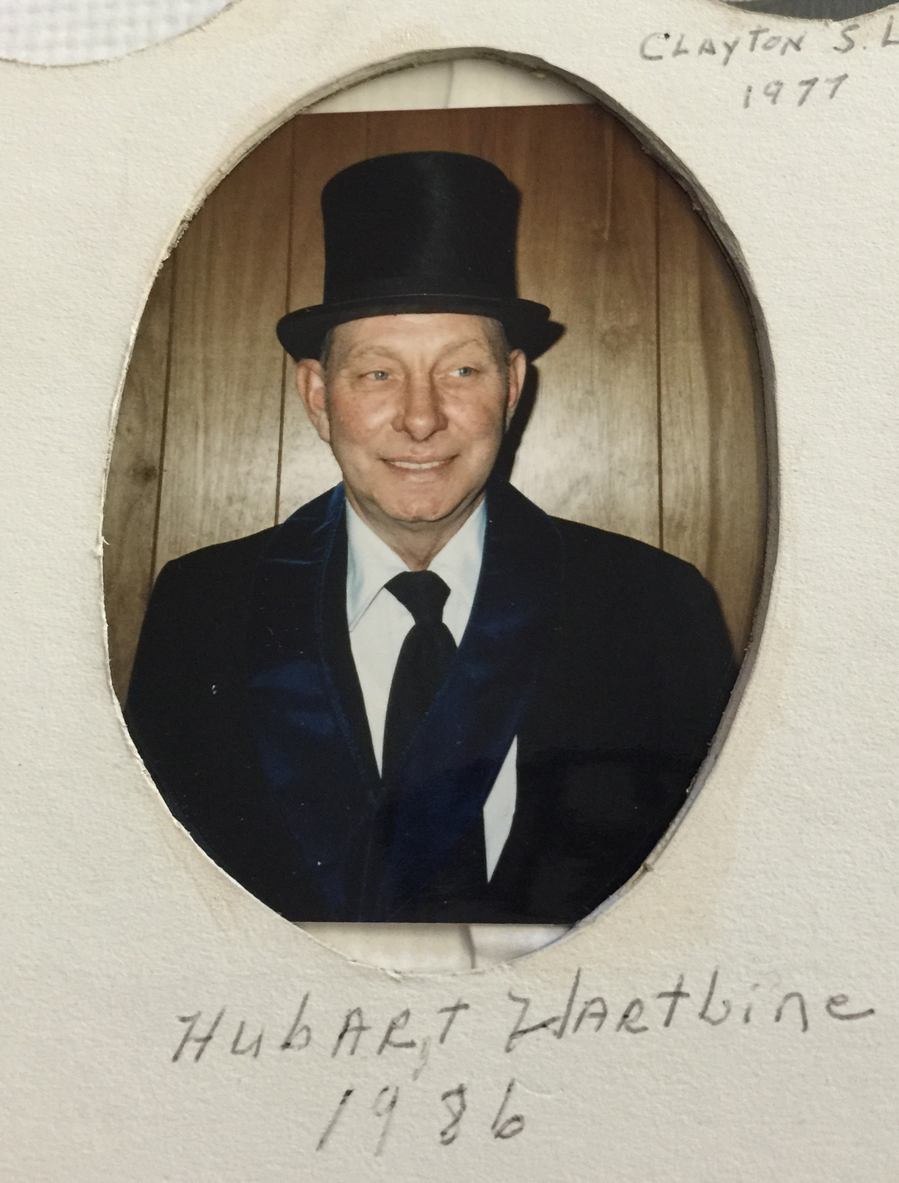 1986 Hubart Harbine