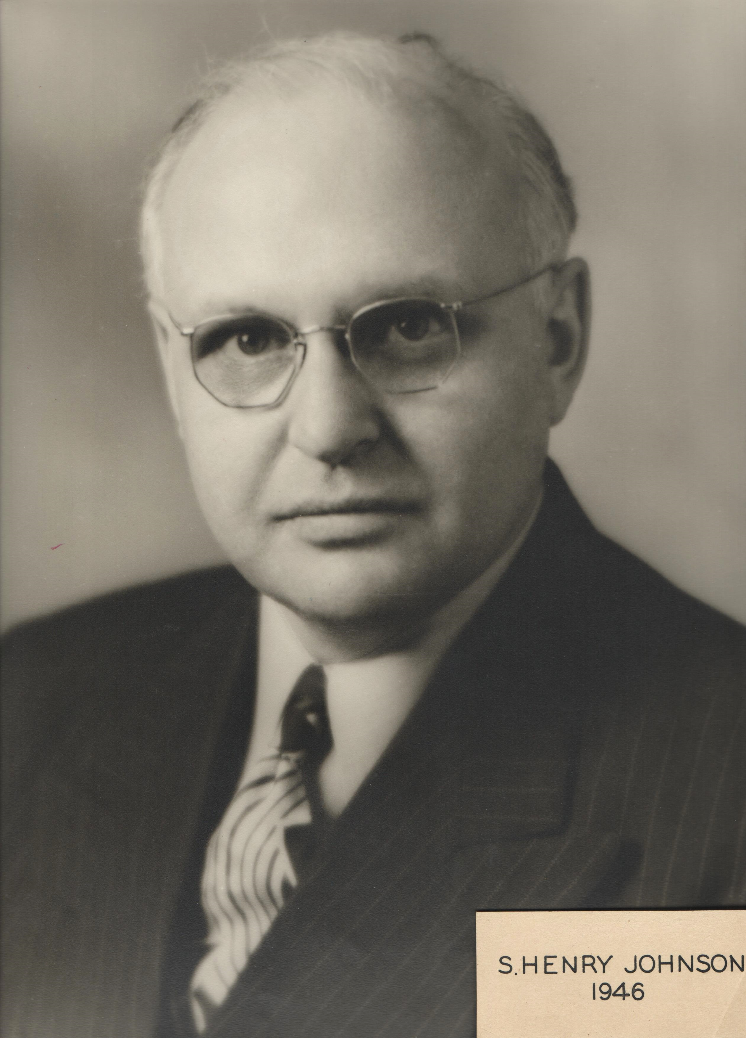 1946 S. Henry Johnson