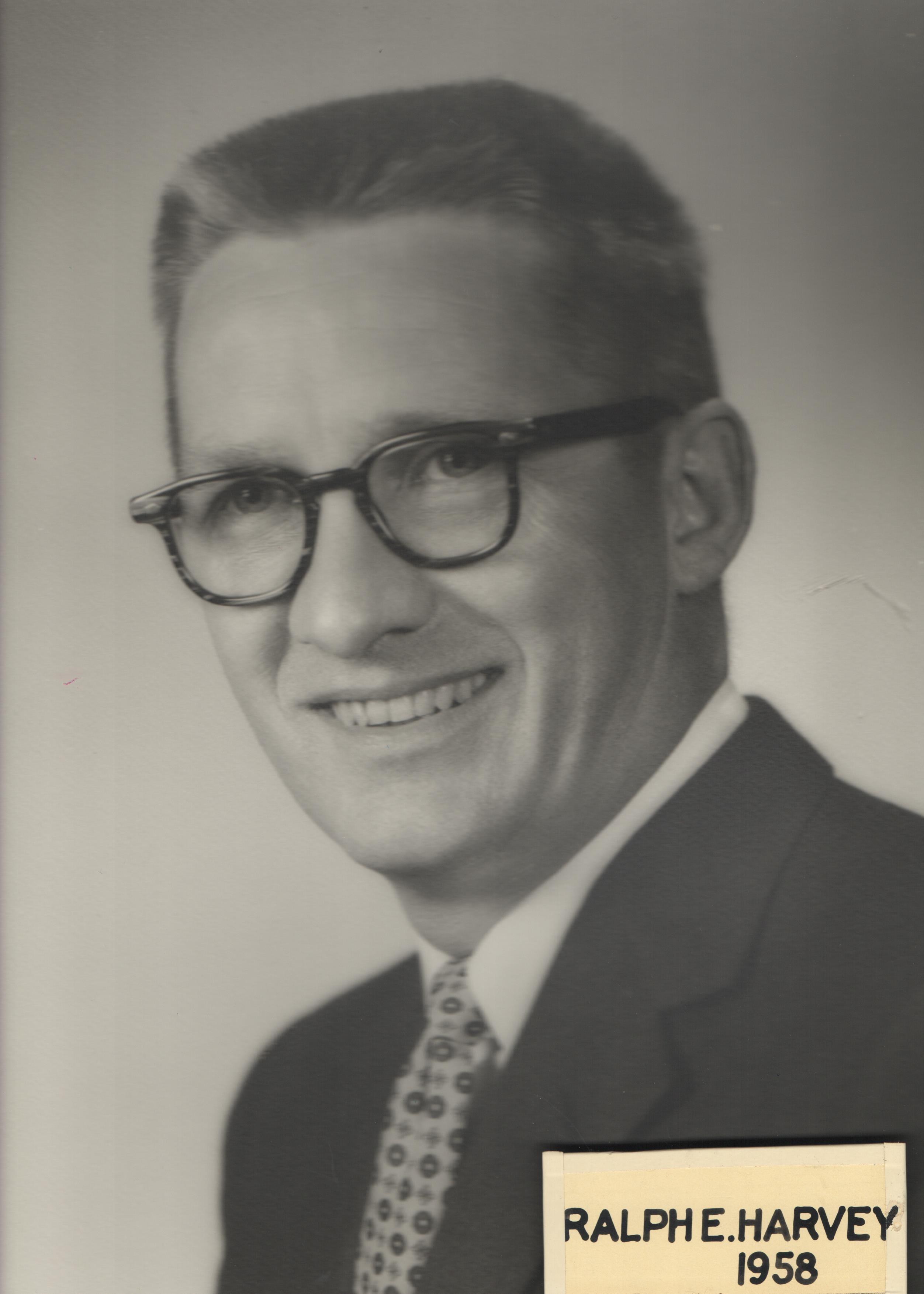1958 Ralph E. Harvey