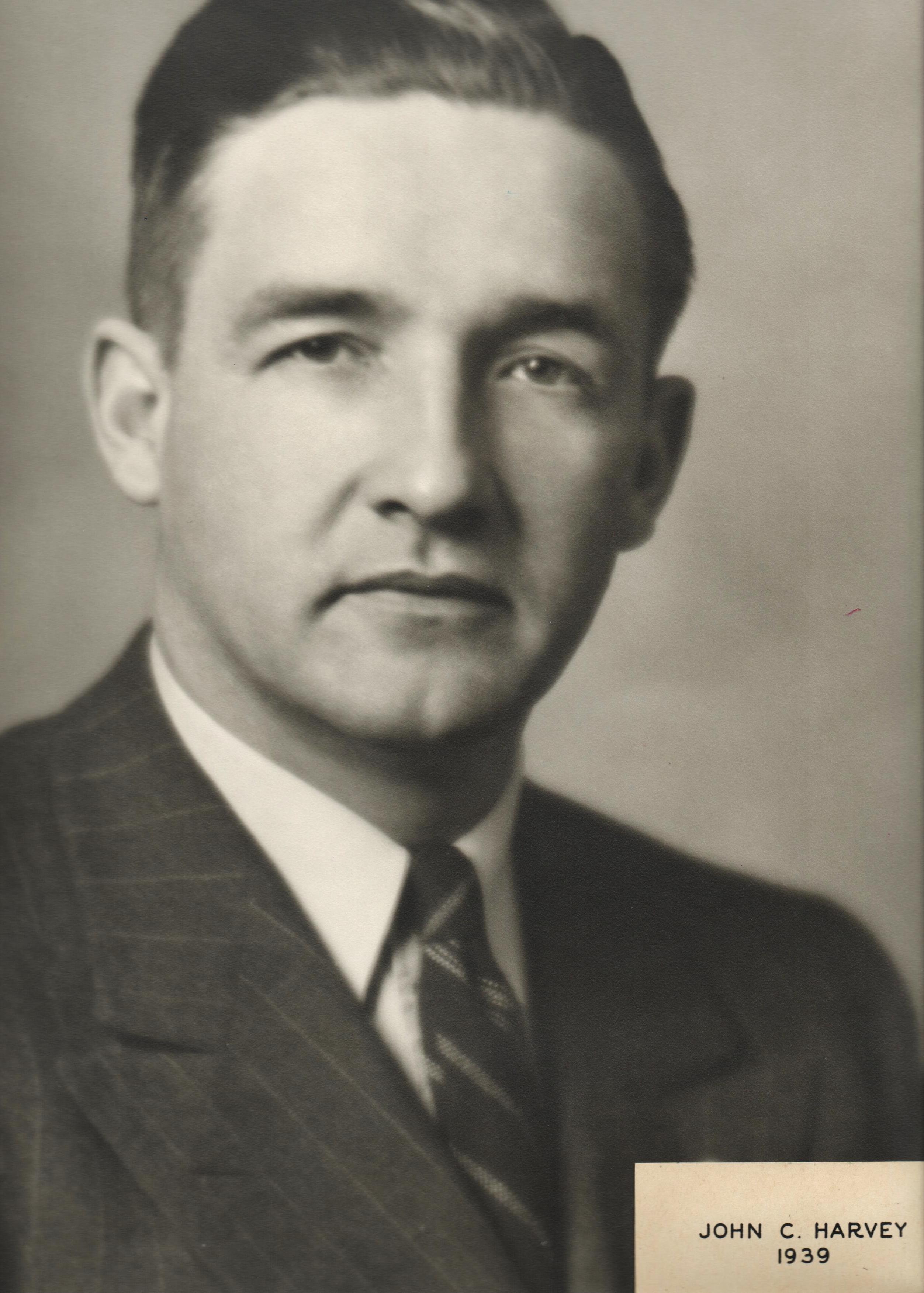 1939 John C. Harvey