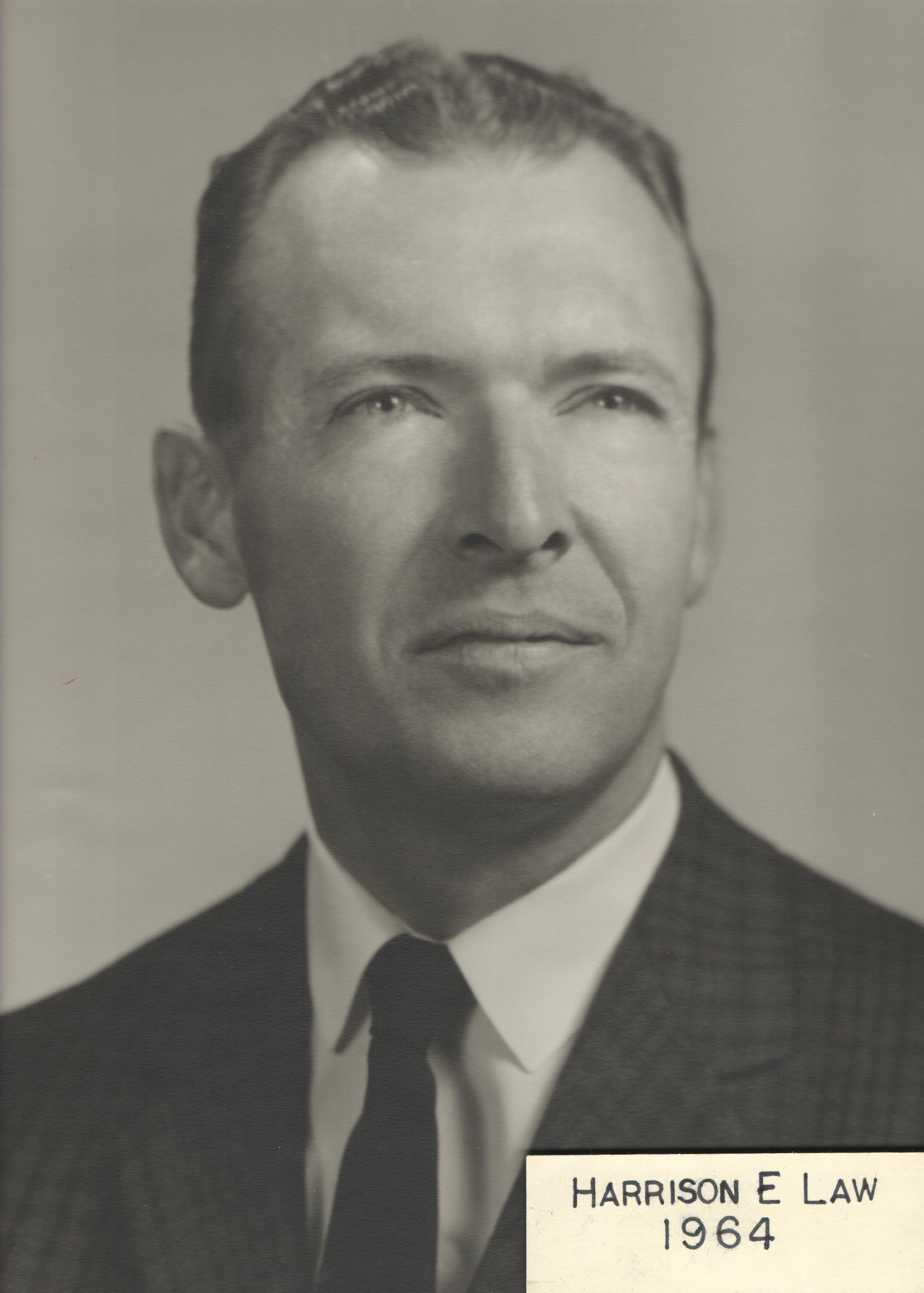 1964 Harrison E. Law