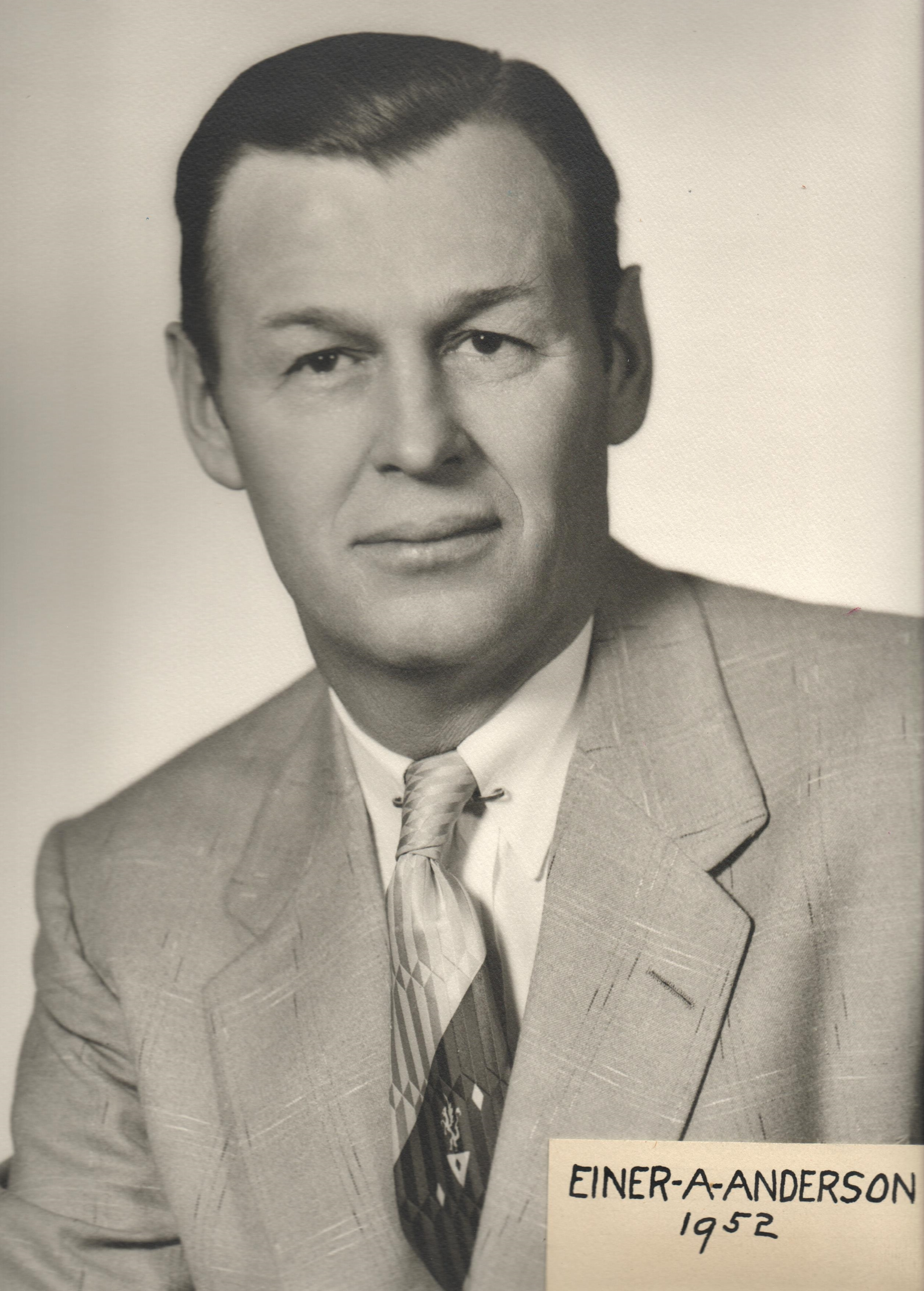 1952 Einer A. Anderson