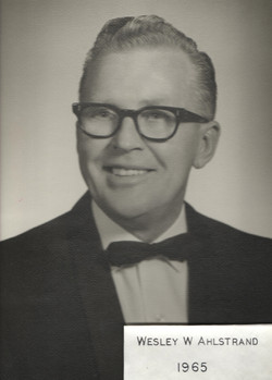 1965 Wesley W. Ahlstrand