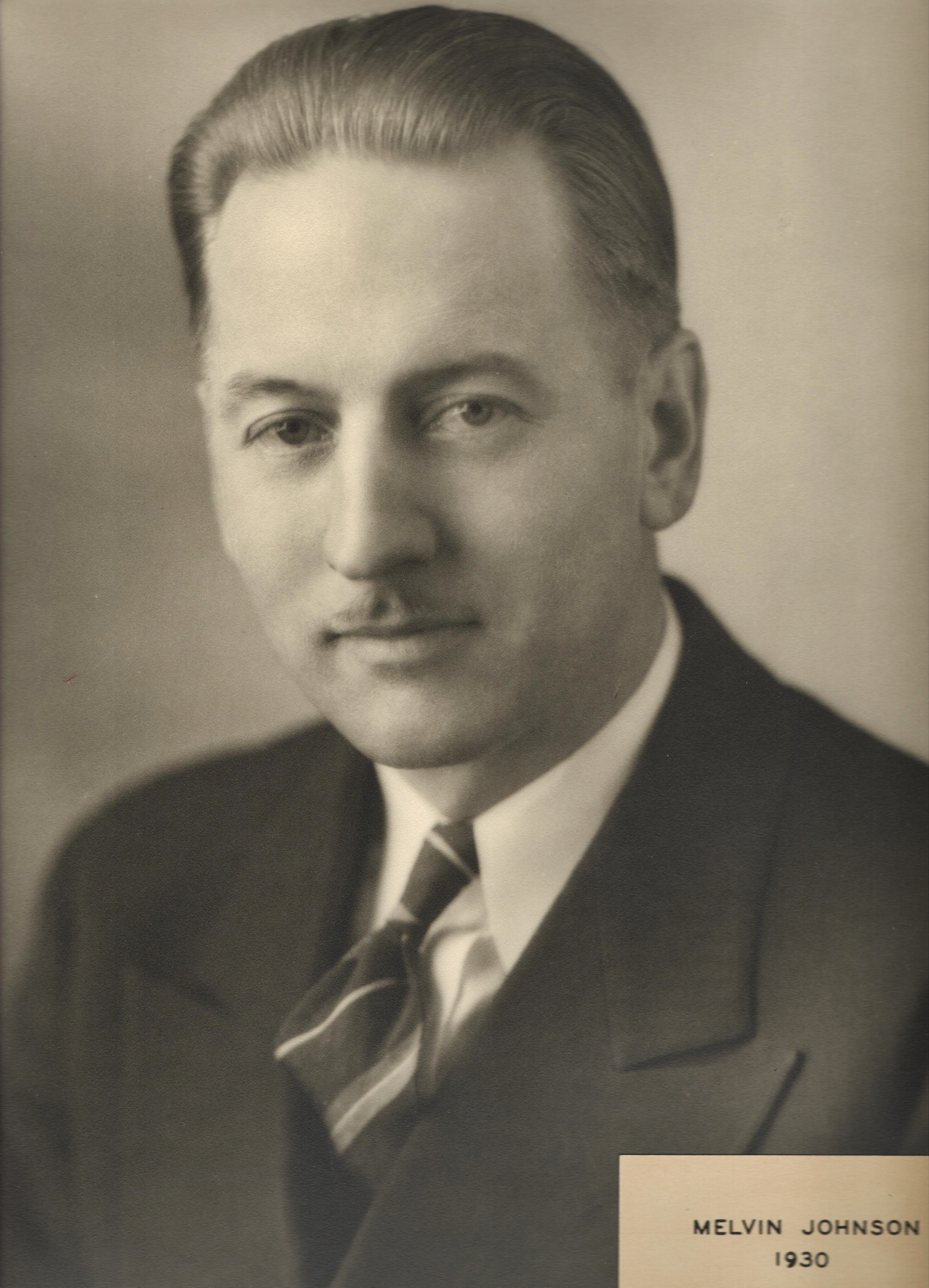1930 Melvin Johnson