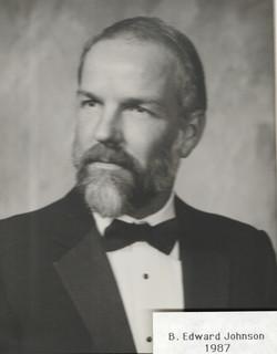 1987 B. Edward Johnson