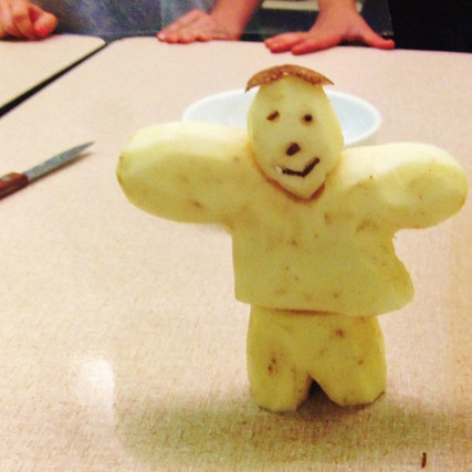 Mr. Potato Man and the Joy of Baking Pasties