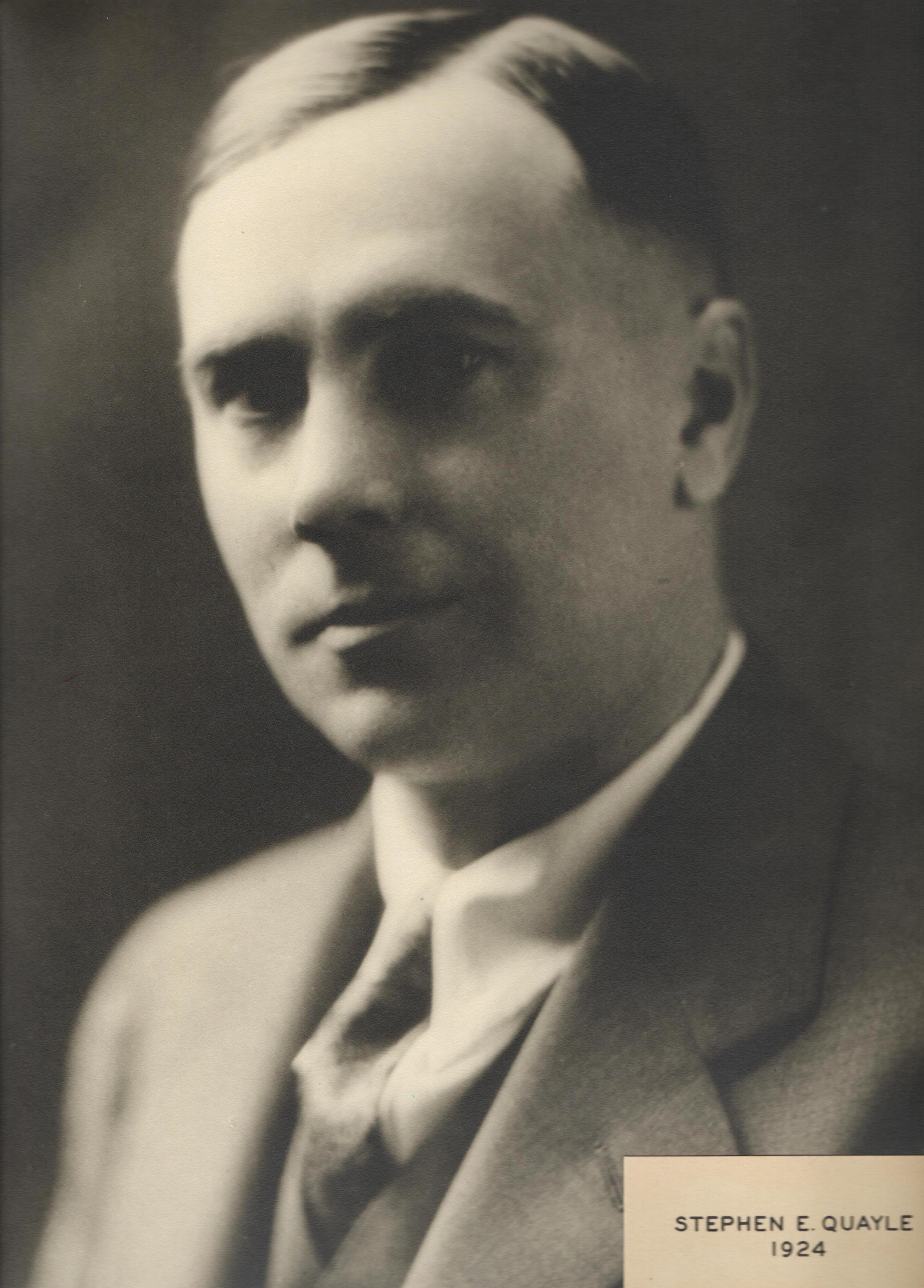 1924 Stephen E. Quayle