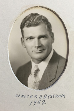 1952 Walter H. Bystrom