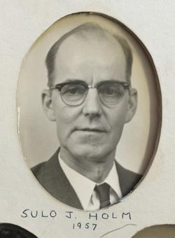 1957 Sulo J. Holm