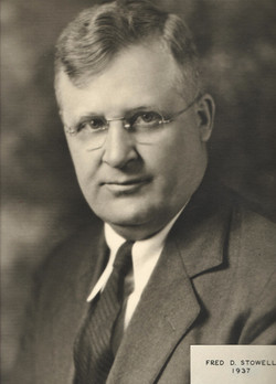 1937 Fred D. Stowell