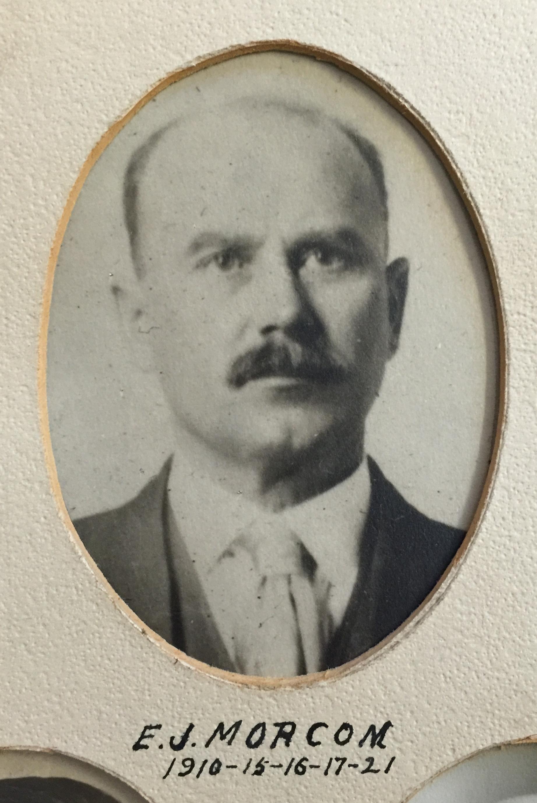 1910-1915-1916-1917-1921 E.J. Morcom