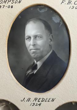 1924 J.A. Redeen