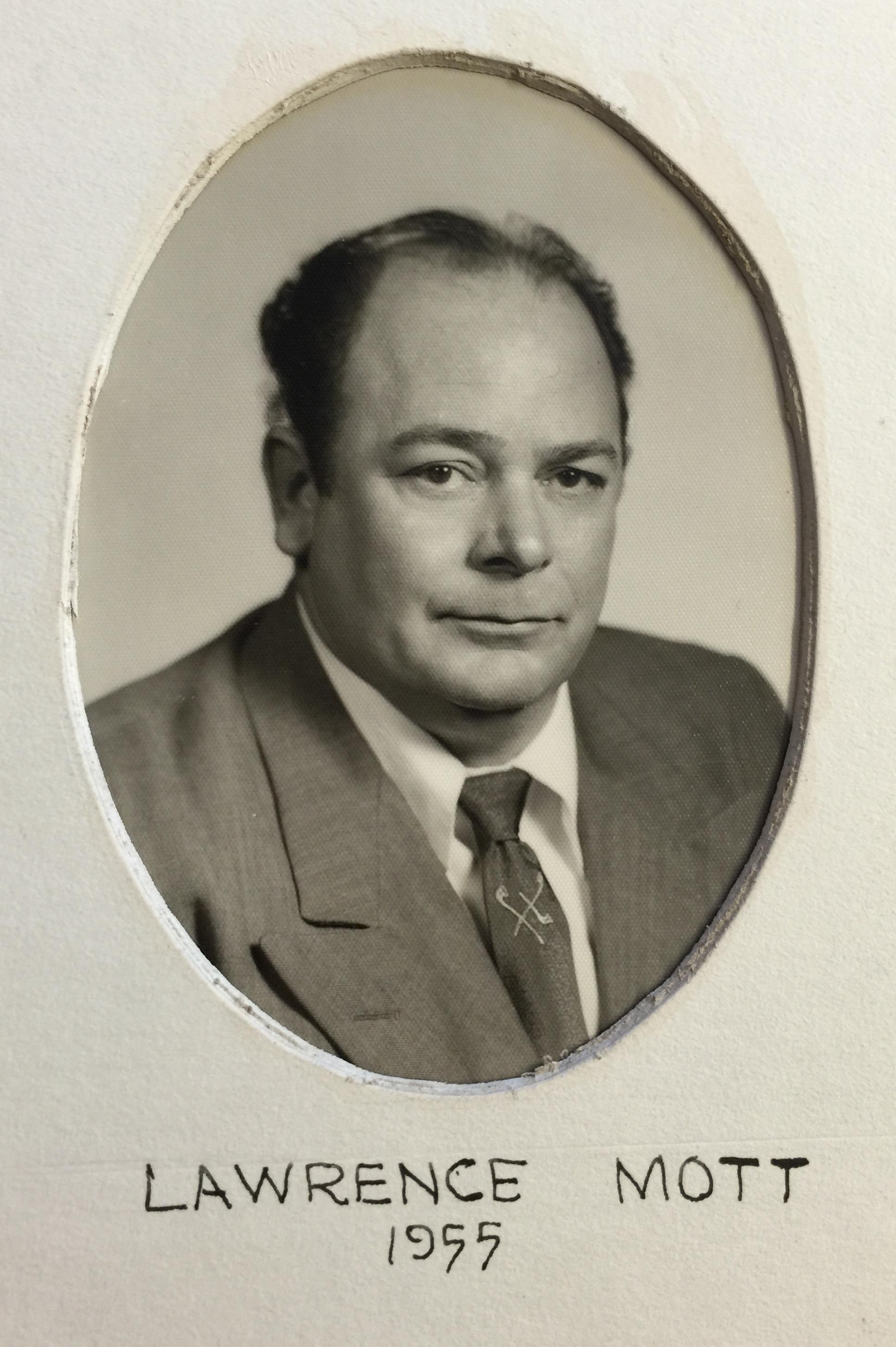 1955 Lawrence Mott