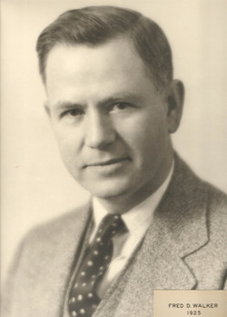 1925 Fred D. Walker