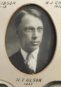 1927 H.T. Olson