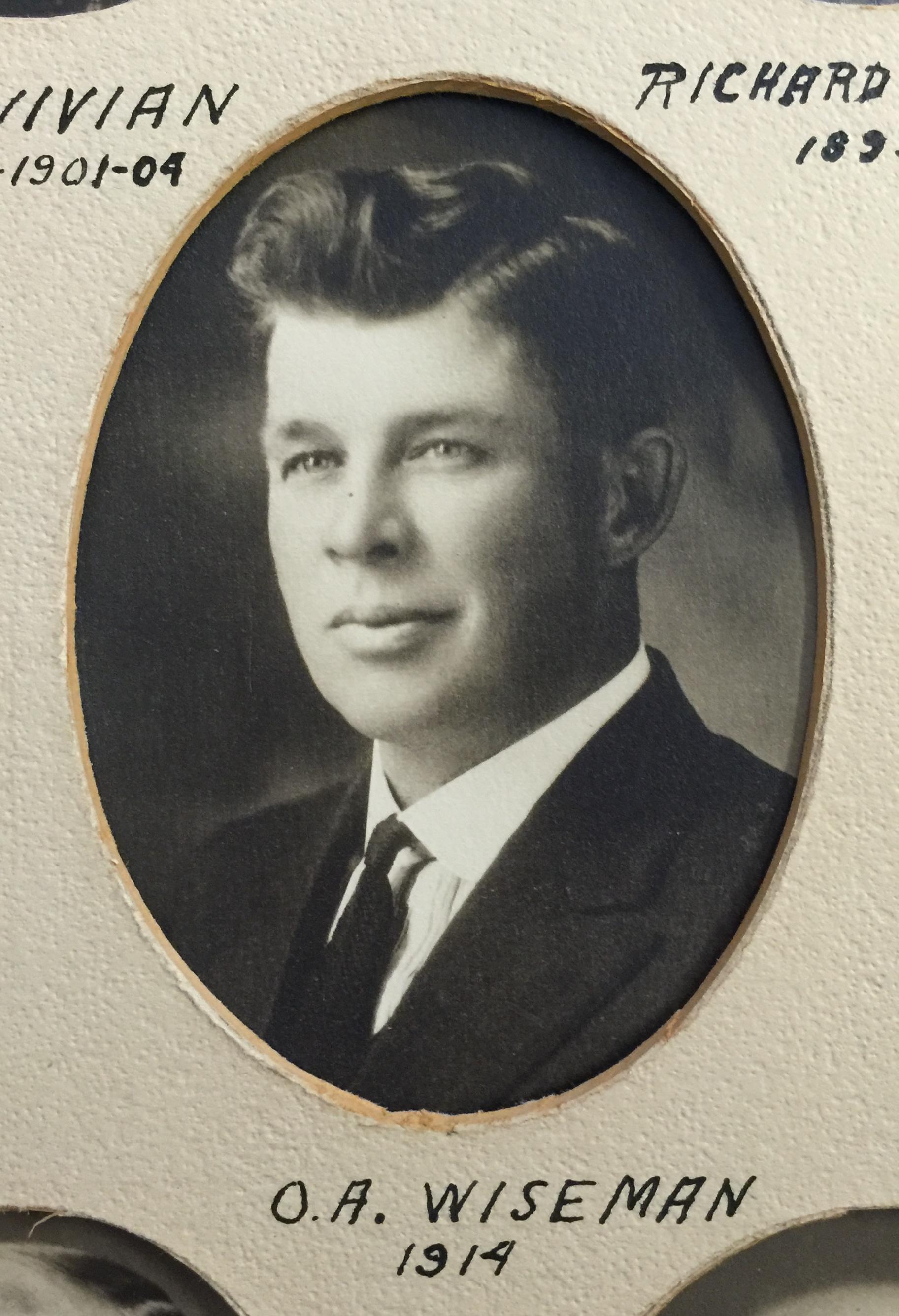 1914 O.A. Wiseman