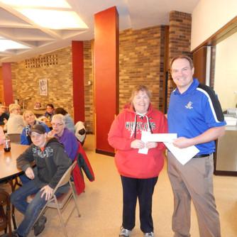 PORCH Pasty Dinner & Masons' Donation