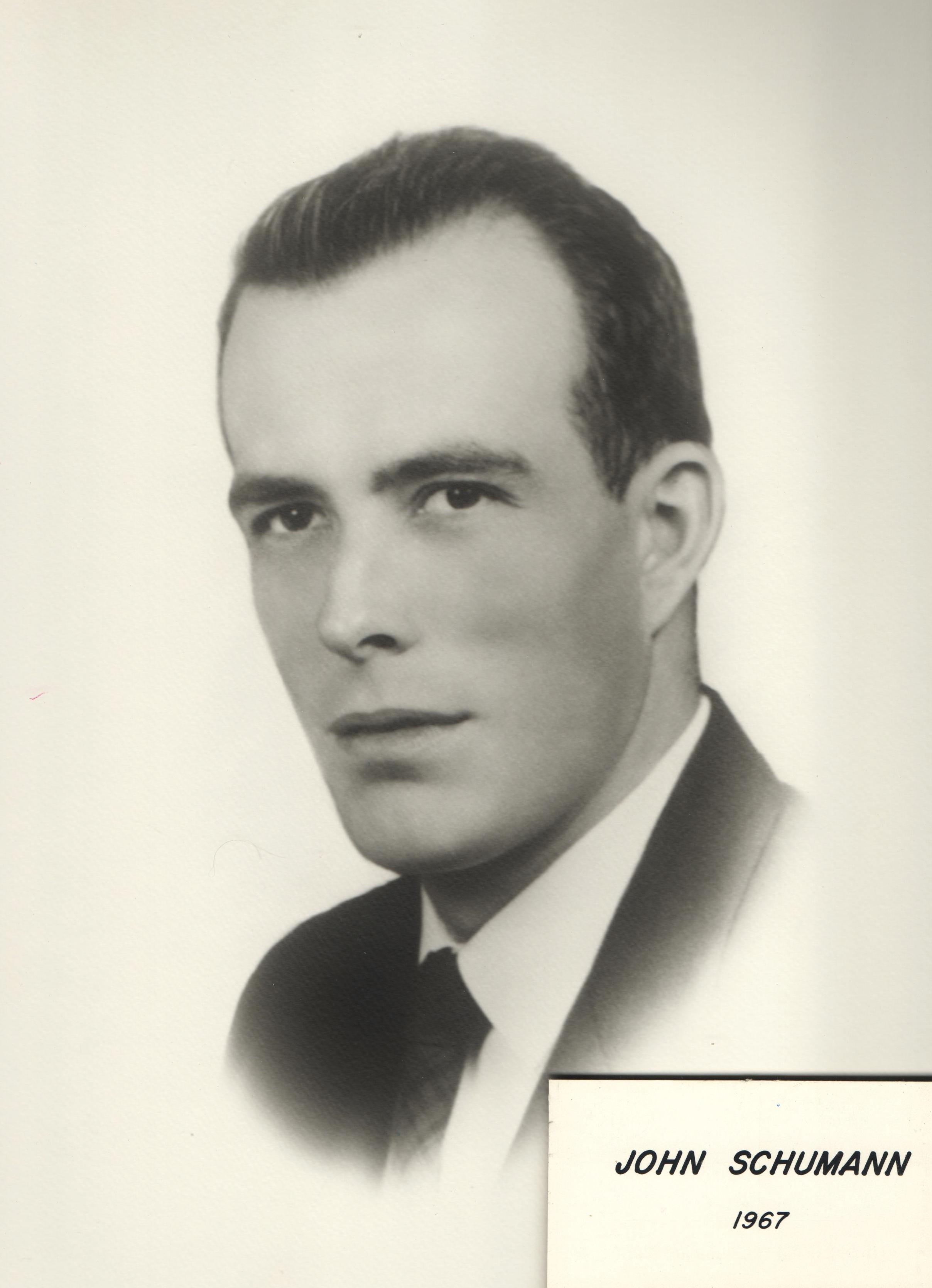 1967 John Schumann