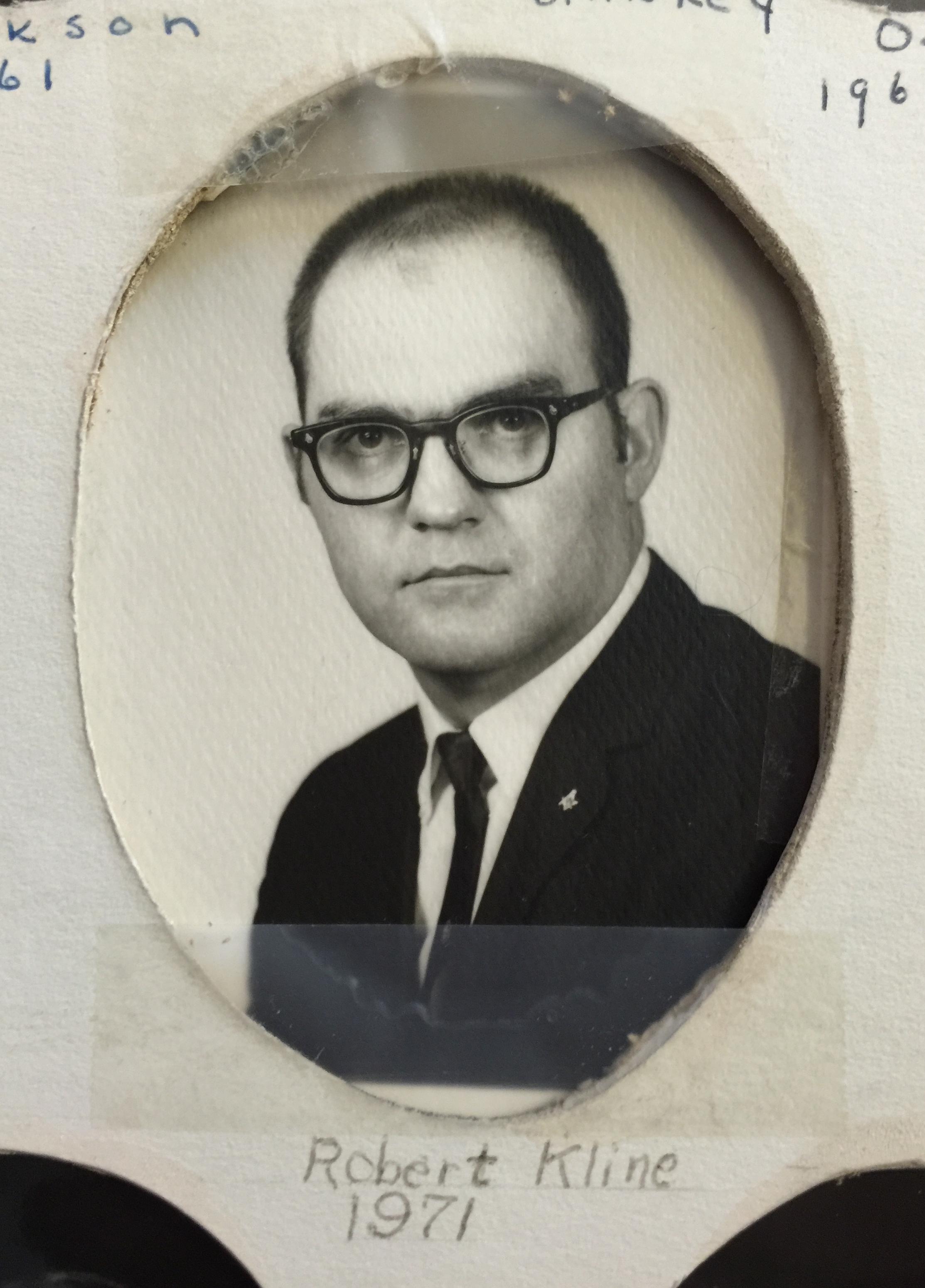 1971 Robert Kline