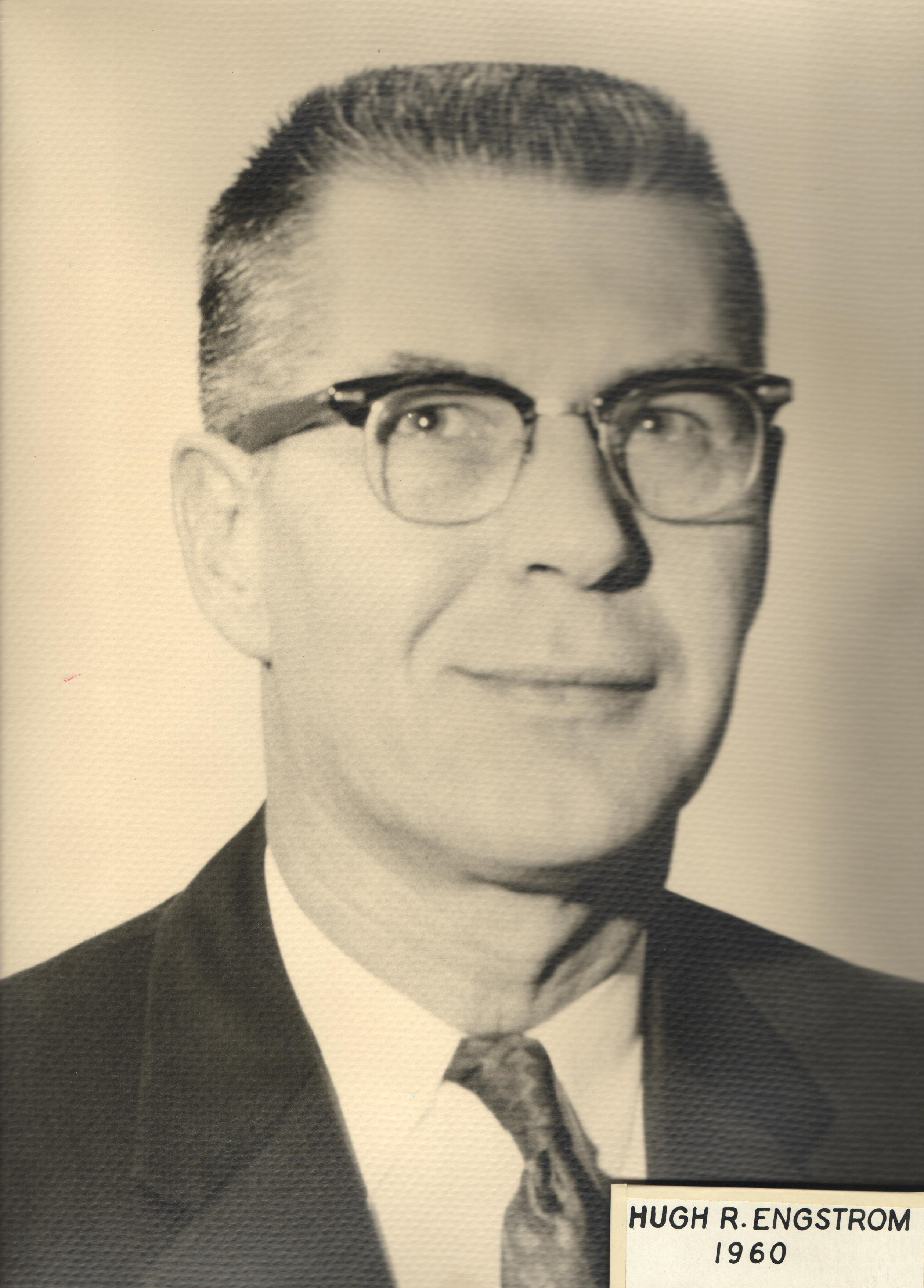 1960 Hugh R. Engstrom