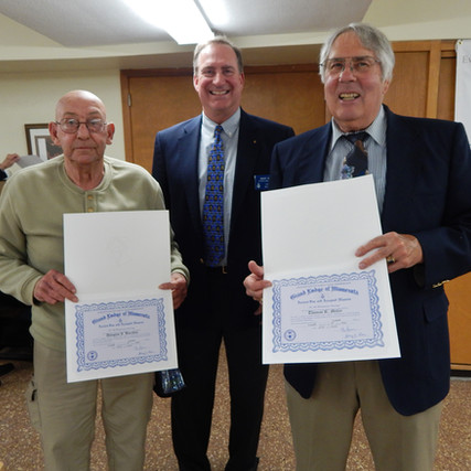 Service Awards: Douglas Barchus & Thomas Miller