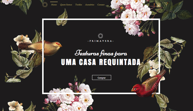 Loja Virtual website templates – Estúdio Têxtil