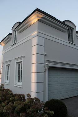 Akzentuierung Fassade LED