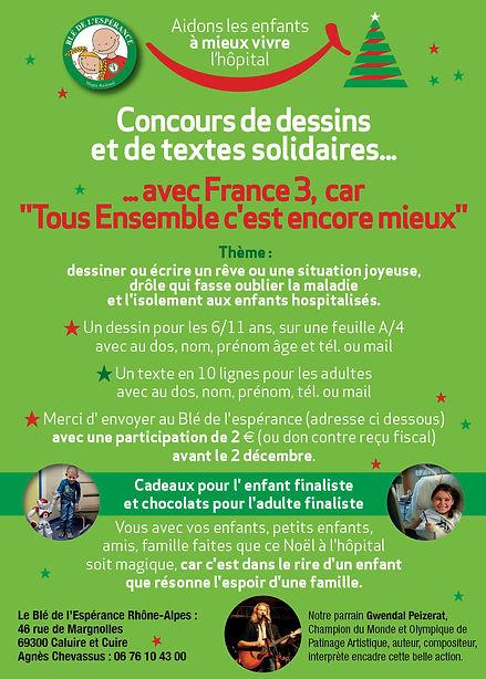 Flyer public fb concours de dessins Fran